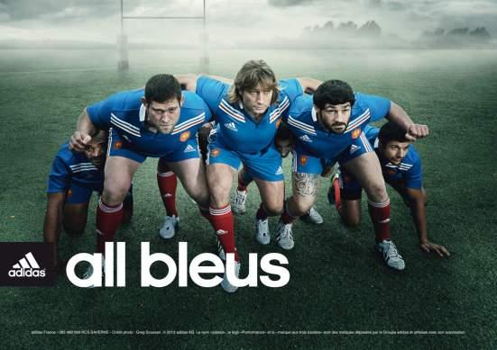 Adidas rugby FFR
