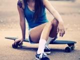Le skate, nouvel accessoire mode desfashionistas