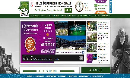 Les Jeux Equestres Mondiaux FEI Alltech™ 2014 en Normandie