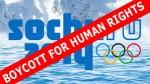 Contre le boycott des JO deSotchi