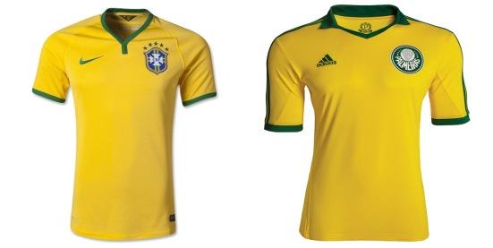 Maillots brésiliens